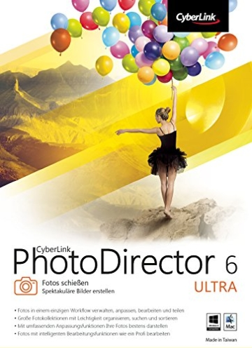 CyberLink PhotoDirector 6 Ultra [PC Download] -
