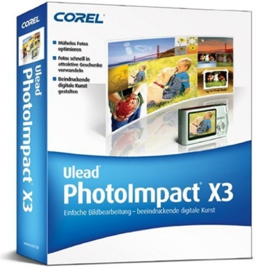 Ulead Photo Impact X3 -